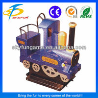 best sell coin operated game machine Mini Train kiddie ride manufacturer