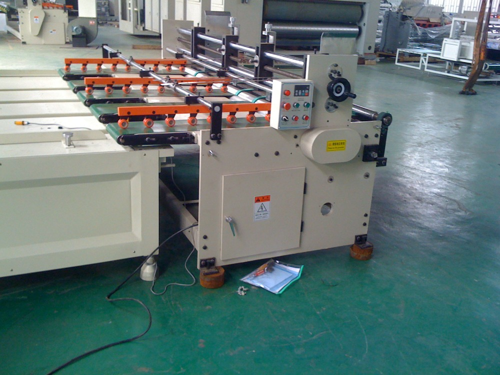 YMZ Automatic Paper-feeding Rotary Cardboard Making Equipment