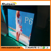 Factory price painel de led screen board led die casting p6 smd outdoor p5 smd led display outdoor p6