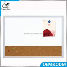 Office supplies aluminium frame combination magnetic cork surface whiteboard office message notice board design decoration
