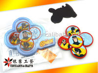 Custom PVC Circle fridge magnet; Soft Rubber from factory