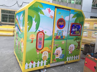 KIDDIE KARAOKE MACHINE music game coin operated electric amusement game machine