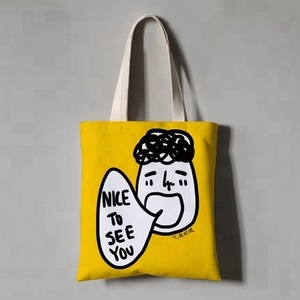 Ginzeal New Design Custom Organic Shopping Cotton Tote Bag