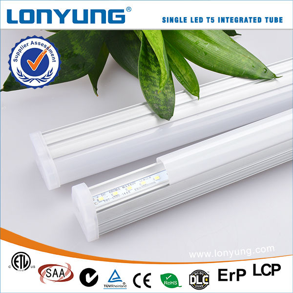 Zhongshan Hight Power 4Ft/120Cm 15W T5 Integrated Led Tube Lighting Linear Led Batten Light