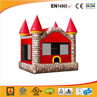 CE certificate inflatable bouncer, air jumper inflatable castle for sale