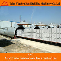 aerated autoclaved concrete block production line