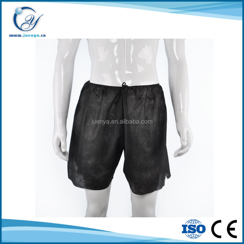 Health Men's Disposable Underwear for Hospital/Spa/Beauty Salon