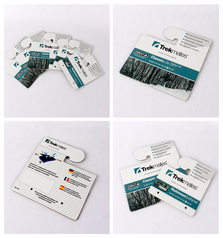 Hot Selling Factory Custom Clothing Label Header Paper Card Stock Paper