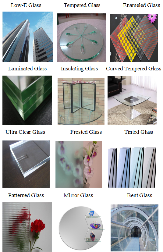 8mm 10 mm 12mm  Clear Custom Made Tempered Glass Price For Exterior Frameless Glass Door with AS/NZS2208