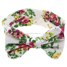2017 fashion Parent-child suit baby elastic head band / girl headband/hair headwear