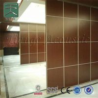 folding partition acoustic movable partition for banquet hall