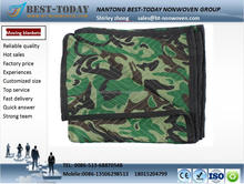 2016 hot sales heavy-duty Camo moving blankets for packing furniture