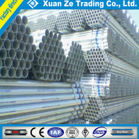 GI pipe manufacturer supply 3'' schedule 40 ASTM A53 round hot dipped galvanized steel pipe/tube factory price