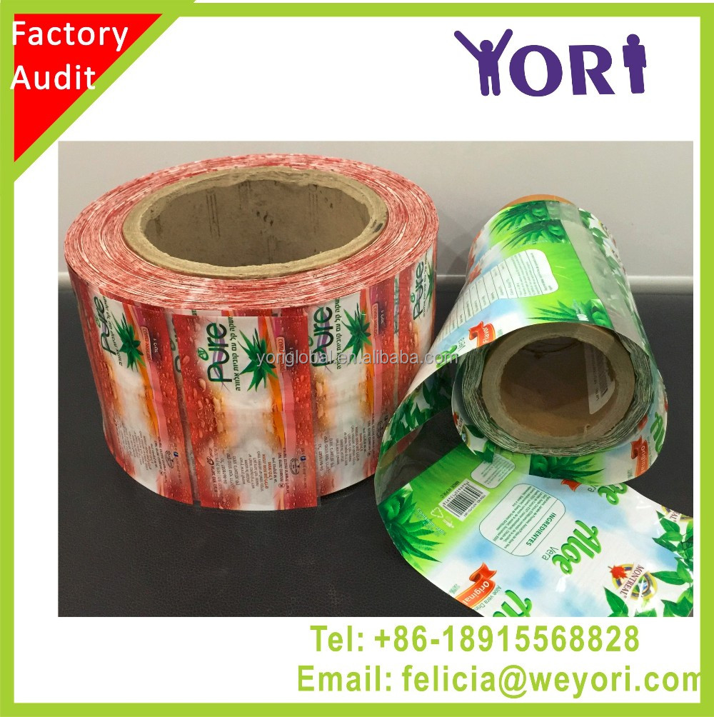 Yori Customize Thickness Depends High Qualtiy PVC Shrink <strong>Label</strong>