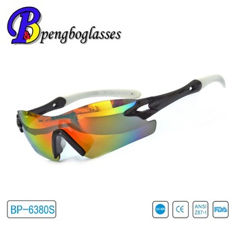 Top quality colorful lens 2016 latest children sport glasses
