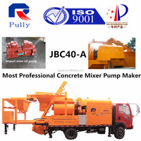 Chassis Concrete Mixer Pump Price in India