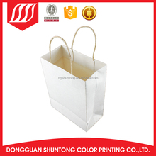 promotional printed gift Natural Brown Kraft paper bag with twist tie