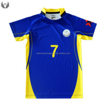 Cheap price high quality custom wholesale fiji rugby jersey