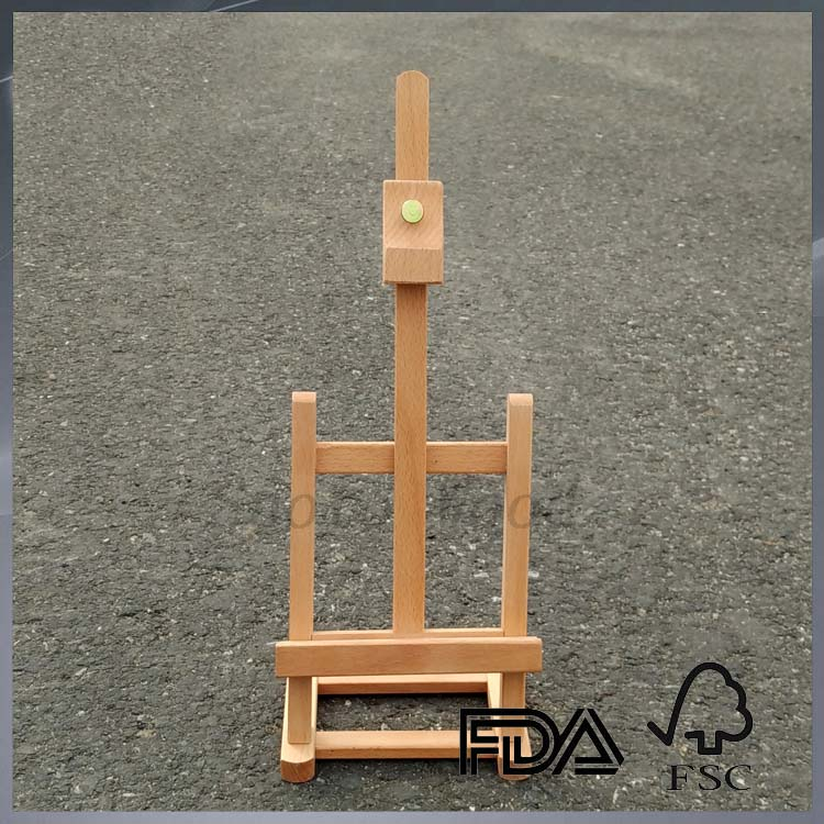 small mini wood easel