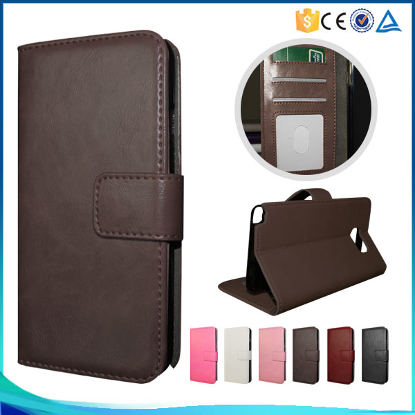 Small MOQ 30PCS Flip Mobile Cover Leather Case For Samsung GALAXY Alpha/G850 New Design Book Wallet Cases Covers