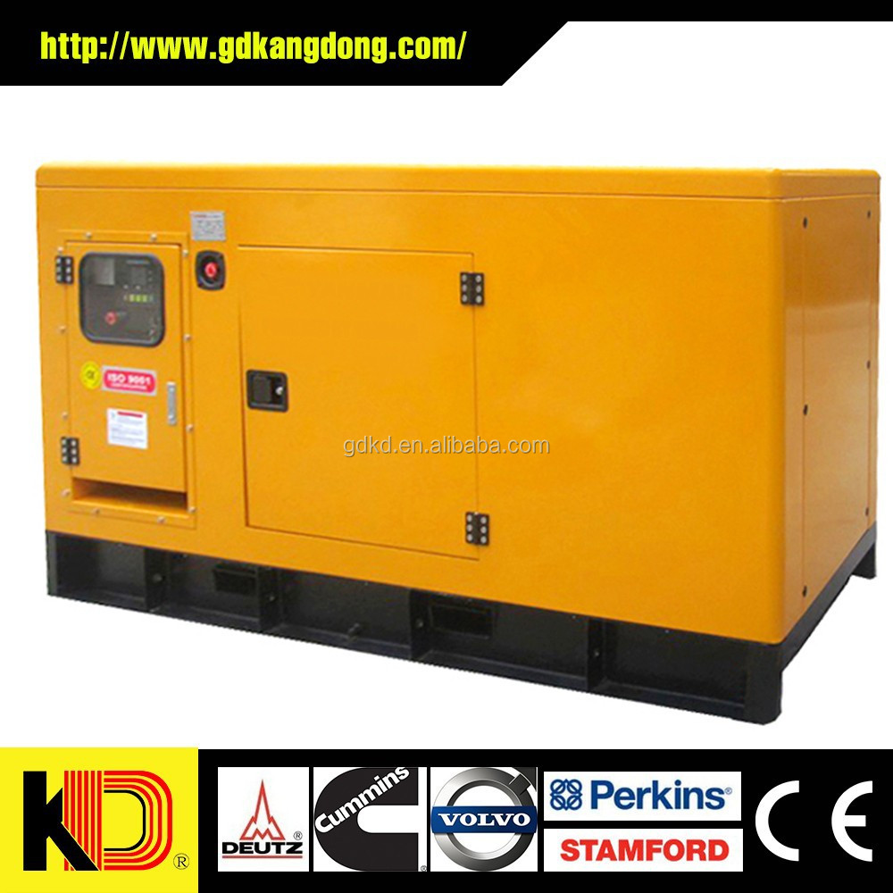 Soundproof Genset with Cummins engine 30kva diesel generator price