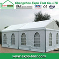 Outdoor canopy tent event