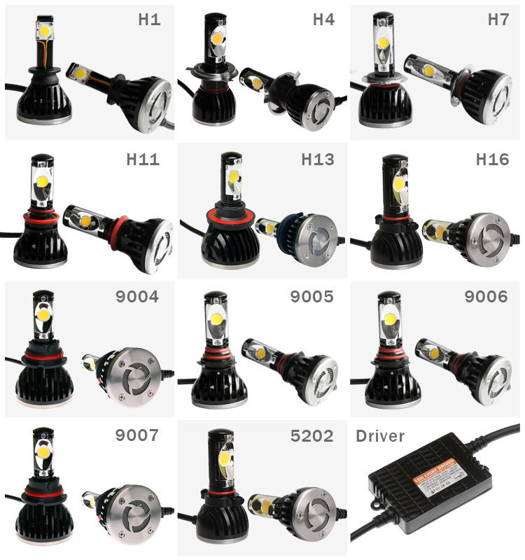Wholesale H1h3 H4 H7 H11 9005 9006 Led Headlights For Honda Accord ...