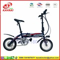 14 Inch E-bike 36V Hidden Lithium Battery Folding Electric Bike