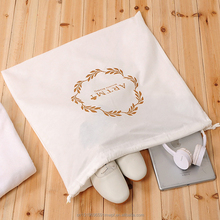 Wholesale Custom Organza Non Woven Cheap Dust Drawstring Easy Travel Shoe Bag