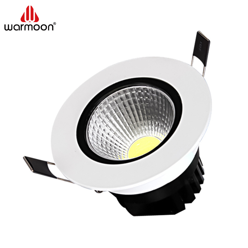 Warmoon LED Lighting COB Round Ceiling <strong>Spotlight</strong> 3W 5W 7W 10W etc