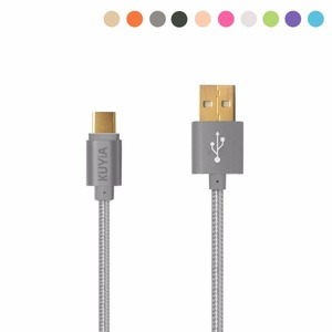 KUYiA Type C 3.1 USB Cable Hi-Speed Data Transfer Charging lead for New Macbook 12'', ChromeBook Pixel, OnePlus 2, Nexus
