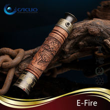 New arrivel excellent design stock selling e fire vision battery e-fire wood vaporizer
