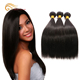 Silky Straight Extension Hair Extensions Gray 24 Inch Human Braiding 40 Inch Human Hair