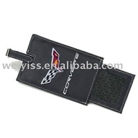 Mass quantity leather luggage tag in factory price