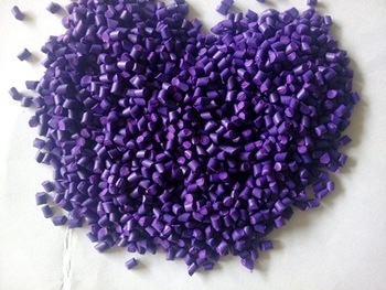 PET color masterbatch pellets purple/red/green masterbatch customized color is available
