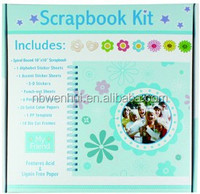 Custom Boxed Scrapbook Album Kit