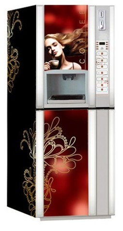 instant hot&cold necta vending coffee machine