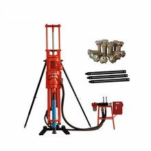 Portable DTH oil well drilling rig rotary table core drilling rig