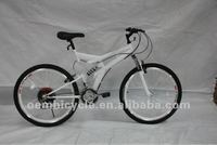 26 inch all white color 18speed hot sale mountain bike