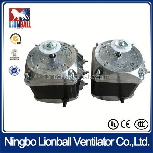 With 36 years experience YJF shaded pole 26mm electric refrigerator fan motor ac electric motor 34w mini refrigerator