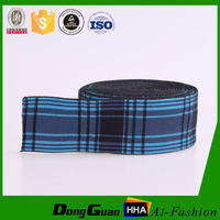 Factory Supply Nylon Jacquard Striped Waistband Rubber Band