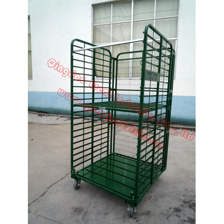TC4143,Nursery Cart,plant transport trolly cart,danish flower trolley,roll container,roll trolley,