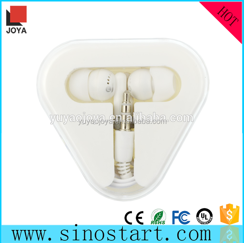 Best design free sample earbud with stereo sound in case for running