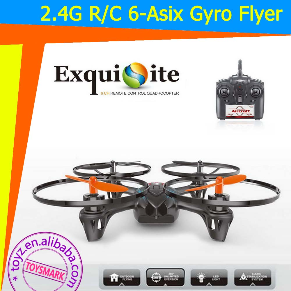 TOYZ RC 6 Asix Flyer X Drone radio control mini helicopter Built in Gyro