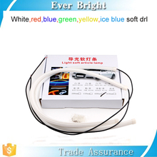 Alibaba trade insurance products multi-color 60mm 85mm flexible drl led strip auto drl flexible led daytime running lights