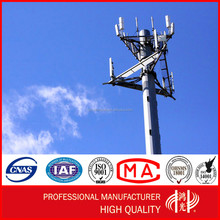 SS400 Galvanized wifi Tower China Factory for Signal Transmission