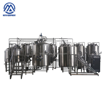 Beer brewing 1000L pilot steam/electric brewery equipment with fermenting system for sale