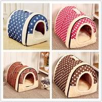 New Special Offer High Quality Portable Travel Dog House Folding Pet Kennel Soft Cat Puppy Indoor Bed