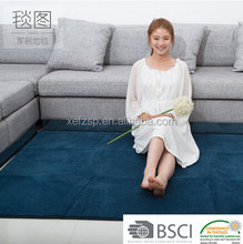 home textile 100% polyester microfiber anti-fatigue mat