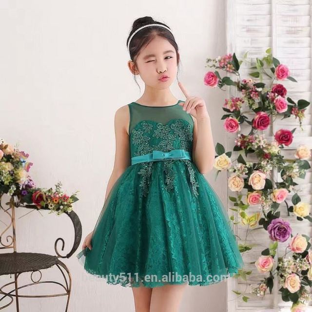 Children's wedding dress pregnant evening dress party dress 2017 ED562